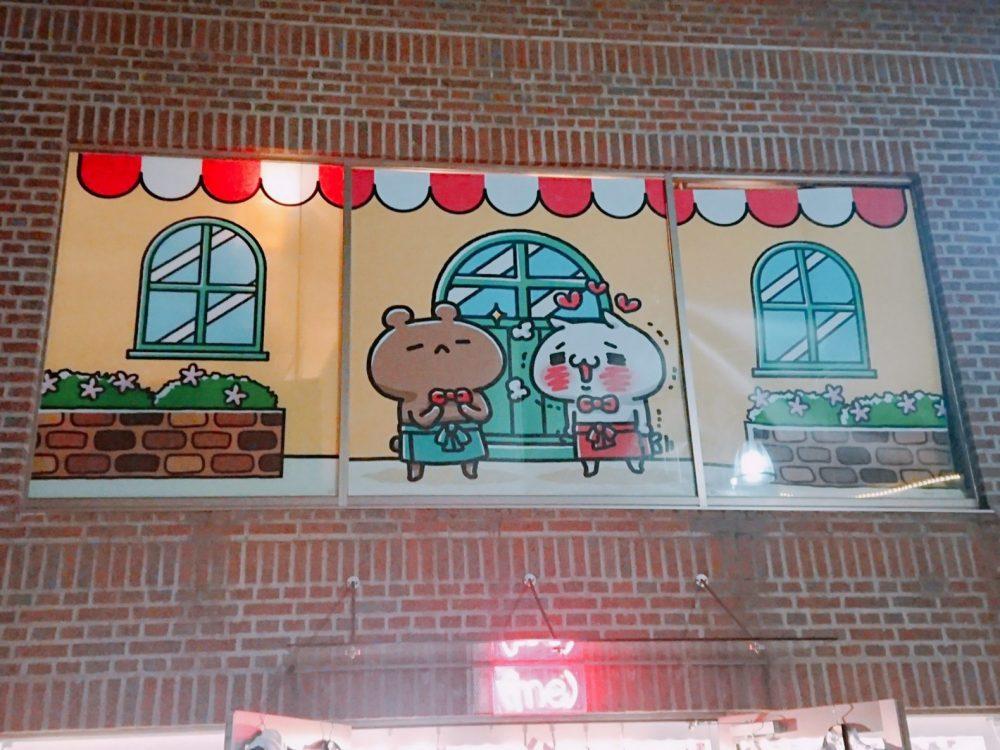 にゃんことくま コラボカフェ(原宿)行ってきました!!レビュー:店内の様子、限定グッズ紹介